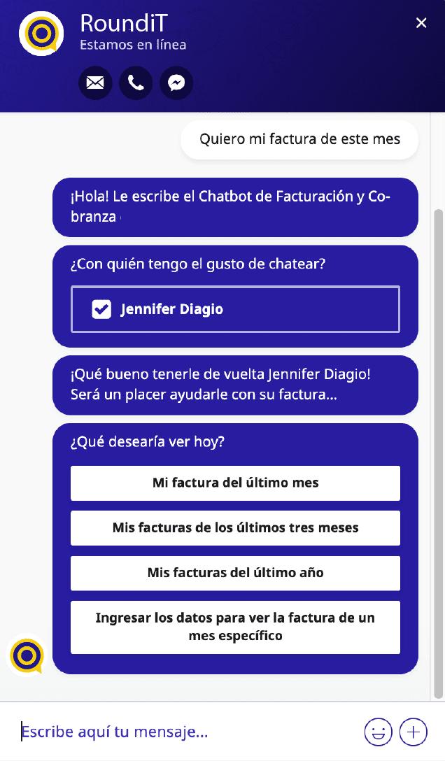nbsp| factura por chatbot3x
