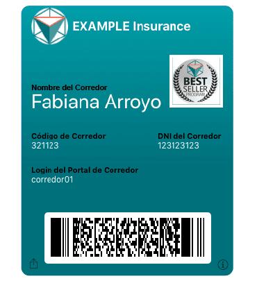 carnet digital del corredor ewallet seguros