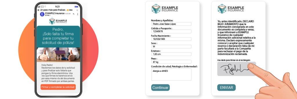 Emisión digital de póliza de seguros