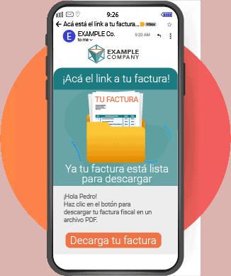Envío de Factura digital como URL